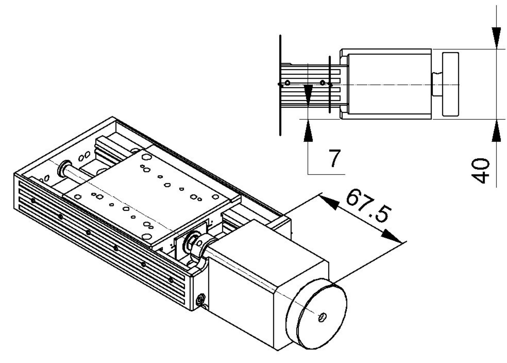 Dc Motor Drawing At Free For Personal Use Universal Speed Control Circuit 2000x1431 Vt 80 Linear Stage