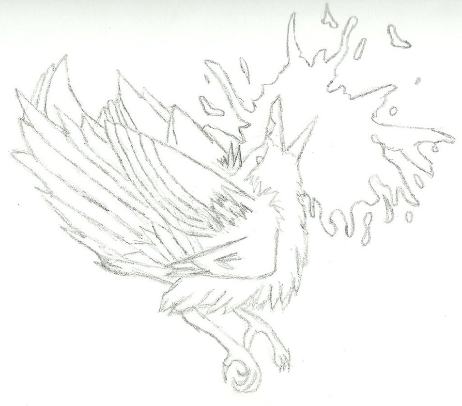 954x838 Dead Bird Drawing [Contains Mild Gore) By Wintersred