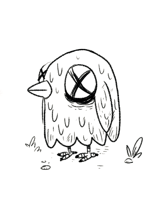 507x649 Dead Bird By Indianajonas