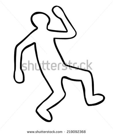 394x470 Awesome Body Outline Clipart Dead Body Outline Clipart Clipart