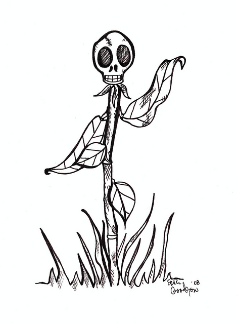471x640 Dead Flower Drawings Sketch Coloring Page