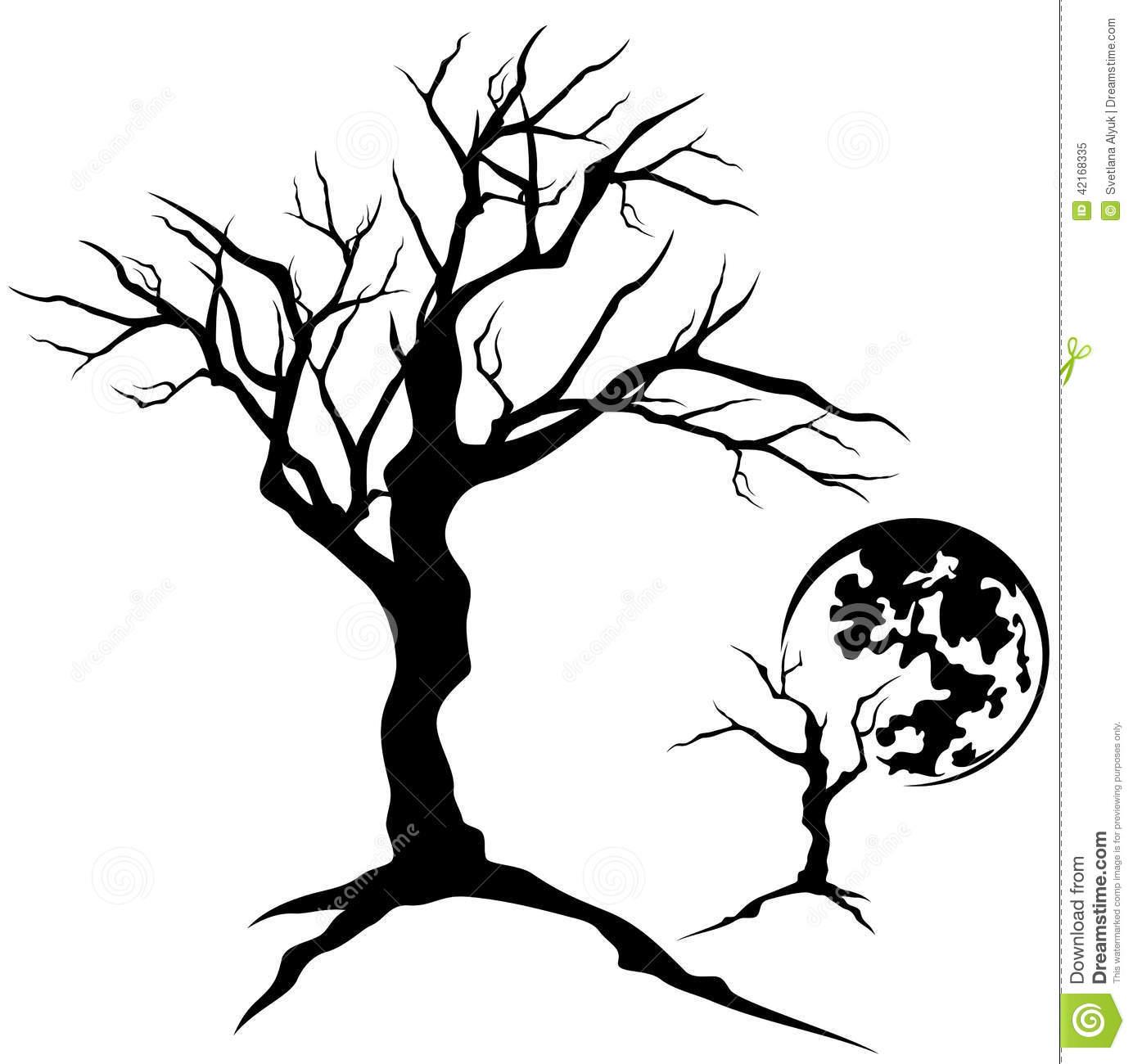 1384x1300 Drawn Dead Tree Oak Tree Bark