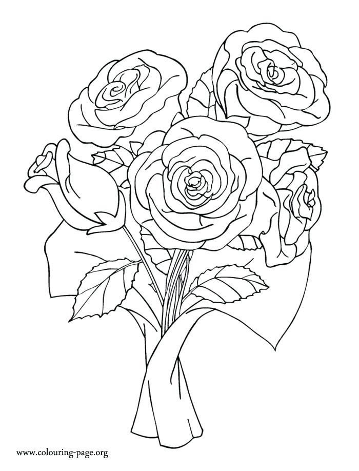 700x918 Rose Coloring Book As Well As Free Printable Day Of The Dead