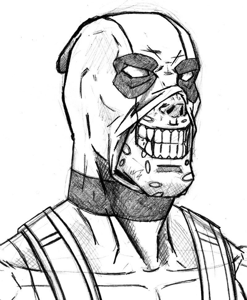 800x970 Deadpool Smiling Like A Maniac By Stark Liverbird