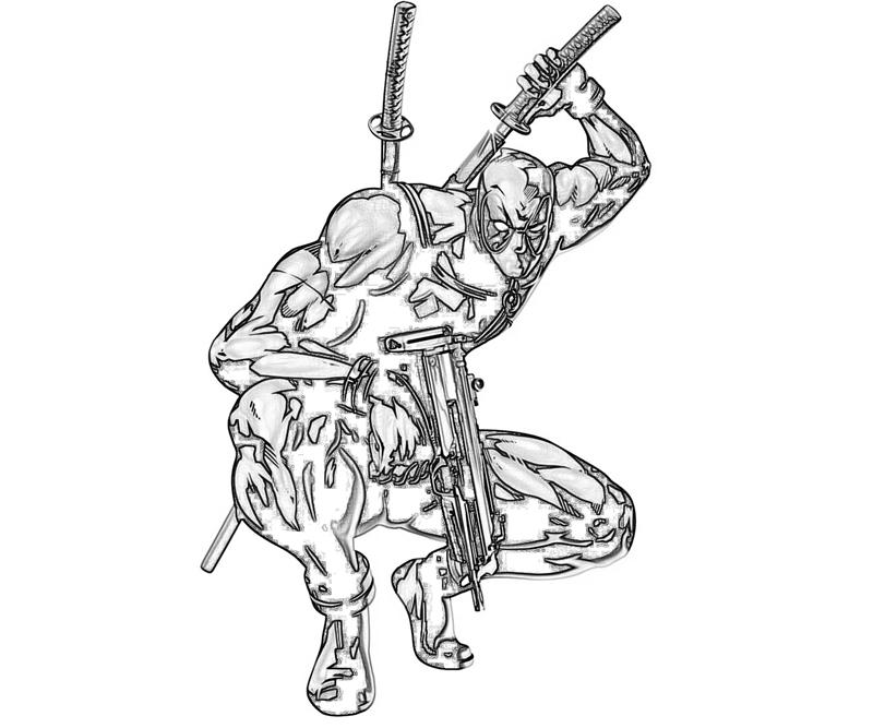 Deadpool Chibi Drawing at GetDrawings.com | Free for personal use ...