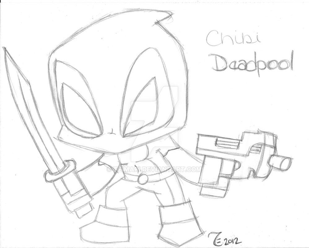 998x801 Chibi Deadpool By TeiMari On DeviantArt