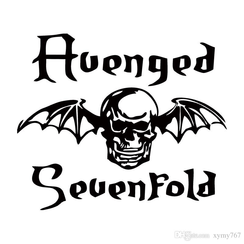 800x800 2018 Hot Sale For Avenged Sevenfold Death Bat Car Styling Decal
