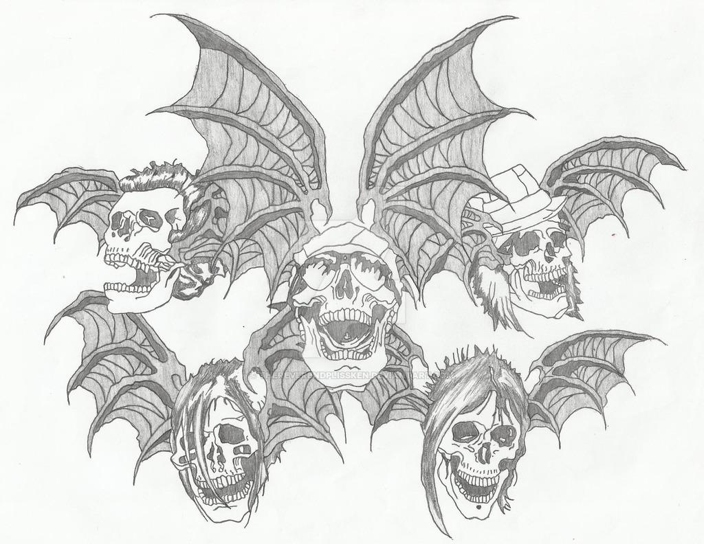 1024x792 A7x Death Bats By Thereverendplissken