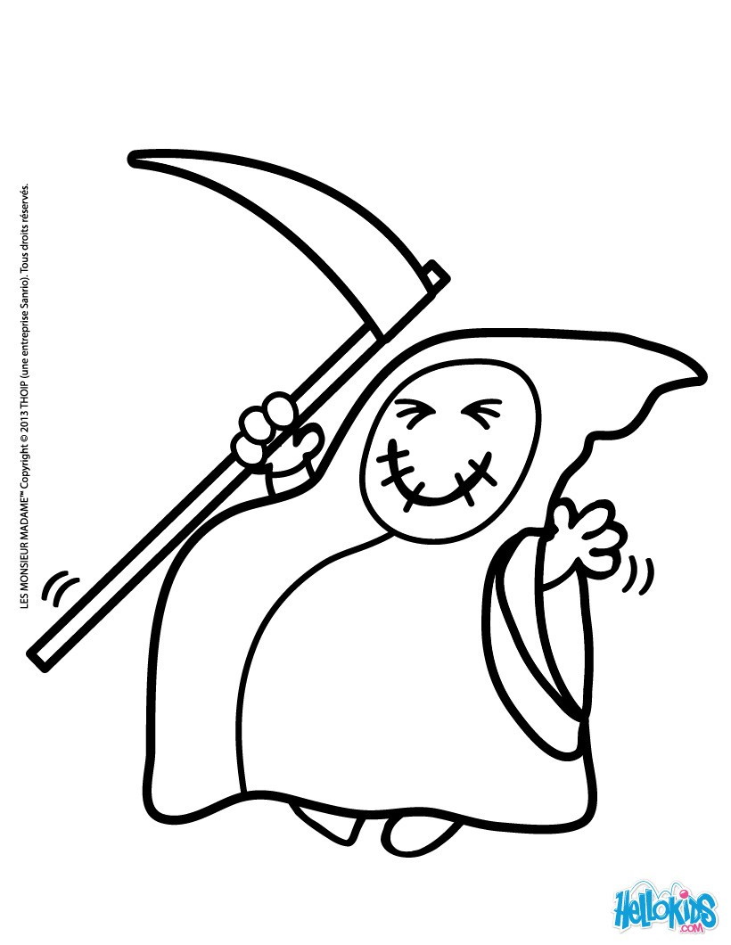 820x1060 Little Miss Bat Coloring Pages