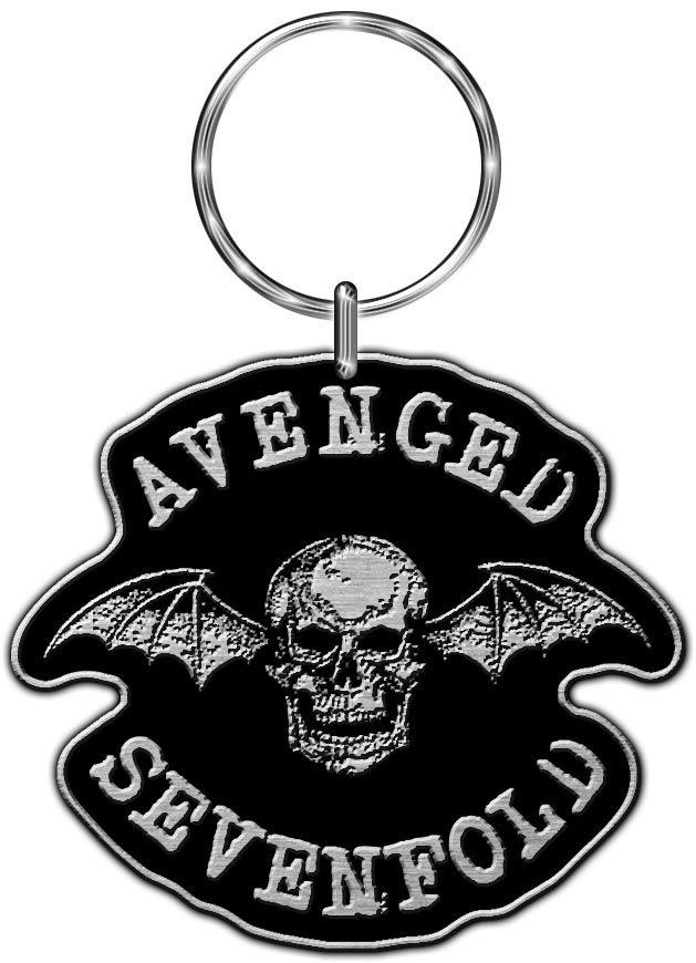 629x870 Sevenfold Keyring Death Bat