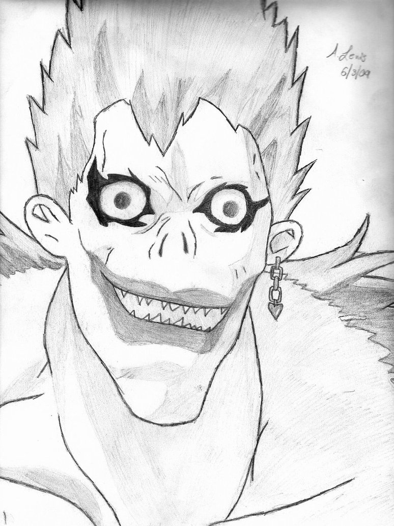 The best free Ryuk drawing images. Download from 12 free ...