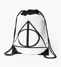 210x230 Deathly Hallows Drawstring Bags Redbubble
