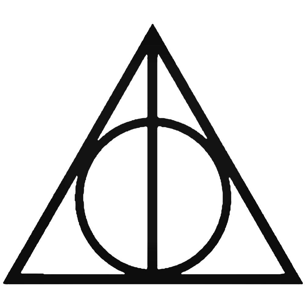 1000x1000 Deathly Hallows Harry Potterize Vinyl Decal Sticker