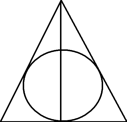 Deathly Hallows Drawing At Getdrawings Free For Personal Use