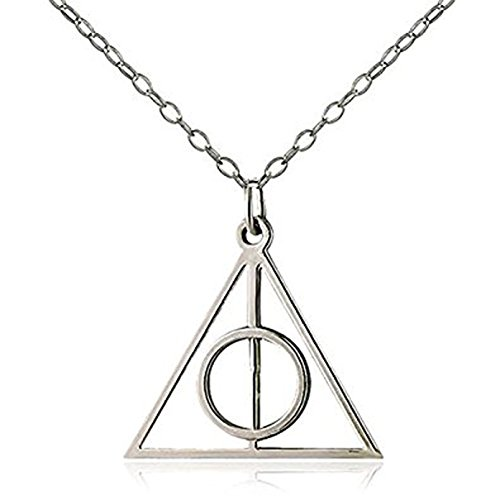 500x500 New World Harry Potter Inspired Deathly Hallows Alloy Pendant