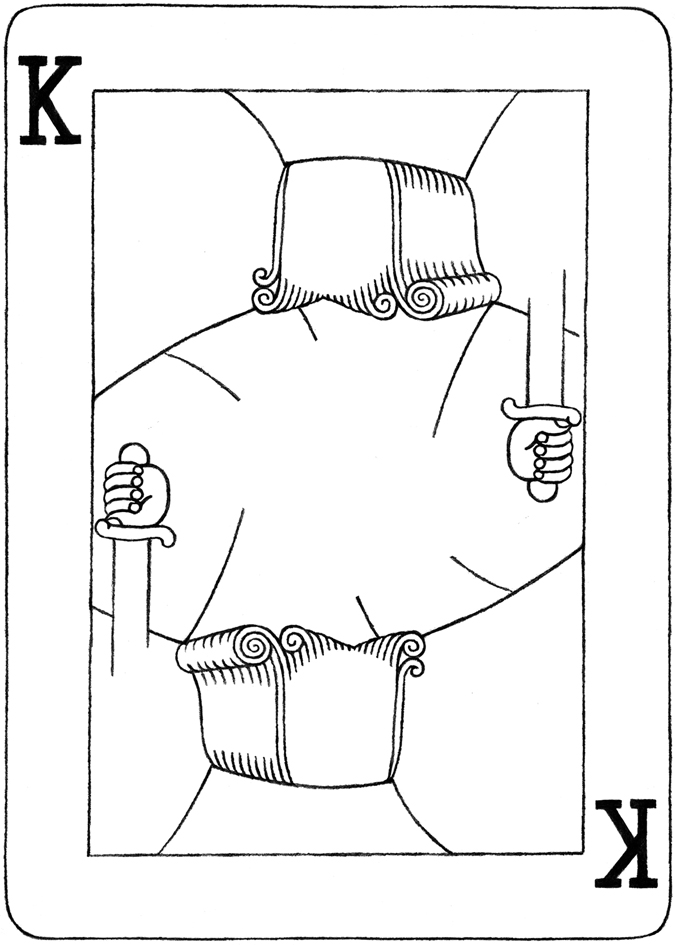 Deck Of Cards Drawing at GetDrawings.com | Free for personal use ...