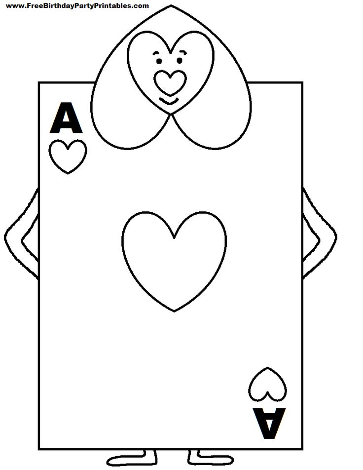 Deck Of Cards Drawing At Getdrawings Free For Personal Use