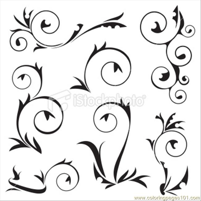 650x650 Frame Decoration Coloring Page