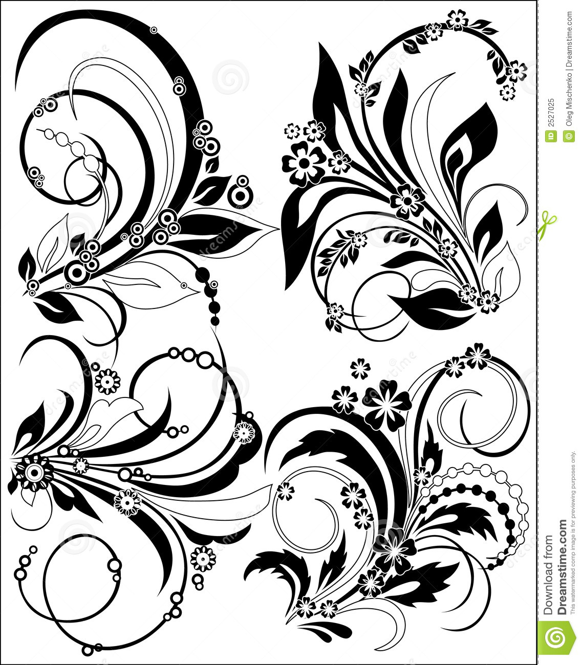 1139x1300 Flowers Decoration Image Drawings Flowers Silhouette Royalty Free