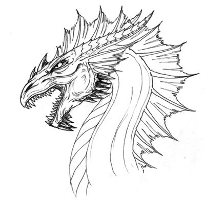 400x393 43 Best Anni Images On Dragon Tattoos, Drawing Ideas