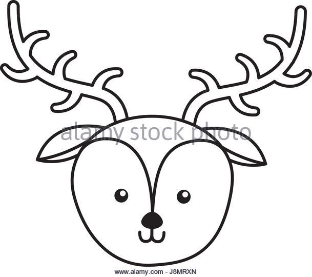 609x540 Cute Deer Face Cartoon Stock Photos Amp Cute Deer Face Cartoon Stock