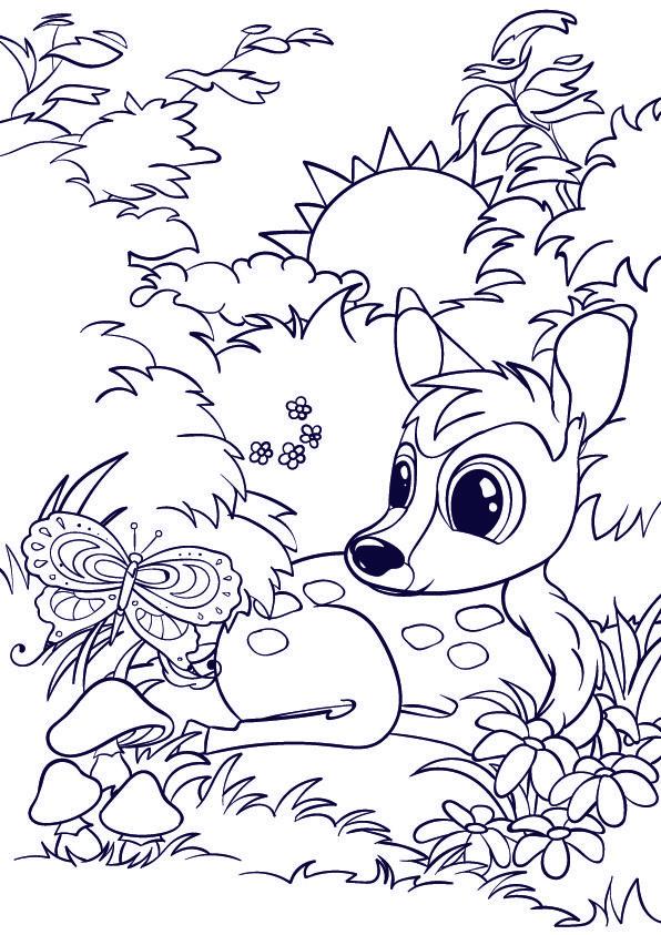 596x843 The Best Deer Cartoon Ideas On Character Design