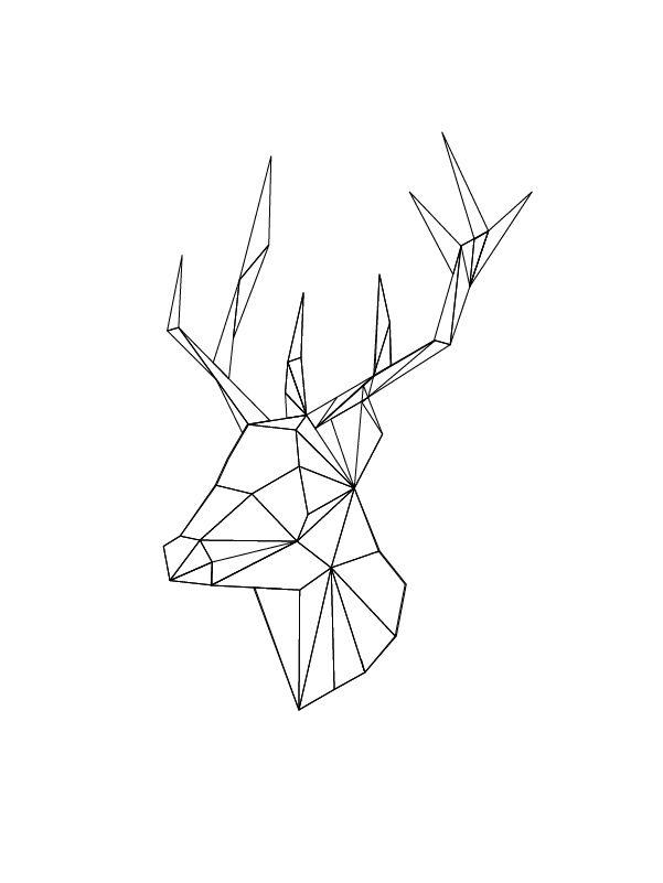 601x801 Origami Drawing 275 Best Origami Tattoos Geometrics Images