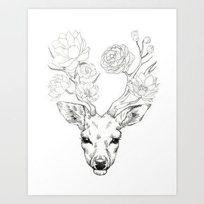 400x400 37 Best Deer Images On Deer, Tattoo Ideas And Deer Tattoo
