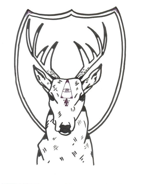 Deer Face Drawing At Getdrawings Com Free For Personal Use Deer
