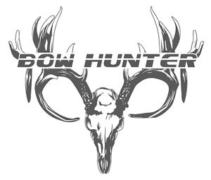 300x255 Buck Deer Skull T Shirt,bow Hunter Shirt,deer Hunting,archery