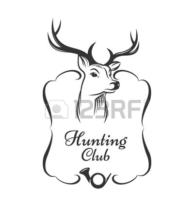 Deer Hunting Drawing
