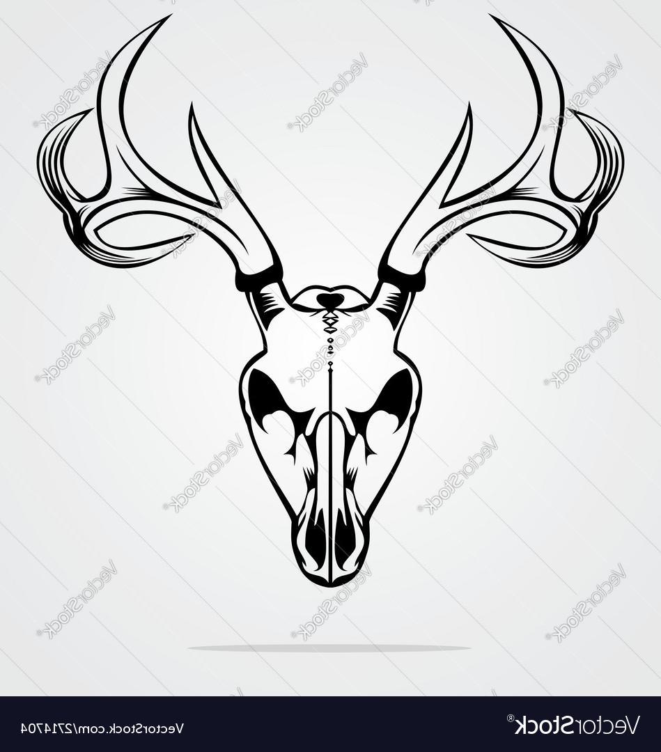 949x1080 Best Free Deer Skull Tribal Vector Pictures