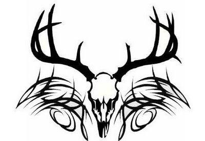400x274 Skeleton Tattoo Designs On Tribal Deer Skull Designs Jpg Tattoo