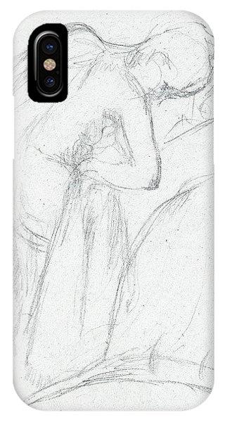 320x600 Figure Drawing Iphone Cases Fine Art America