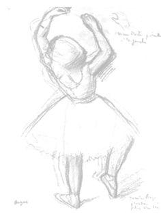 236x313 Danseuse Edgar Degas, Giclee Print And Drawings