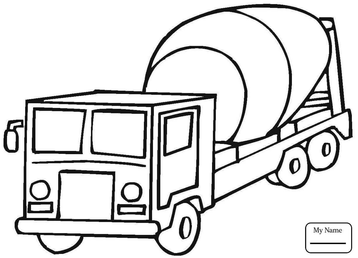1224x882 Coloring Pages For Kids Delivery Truck Transport