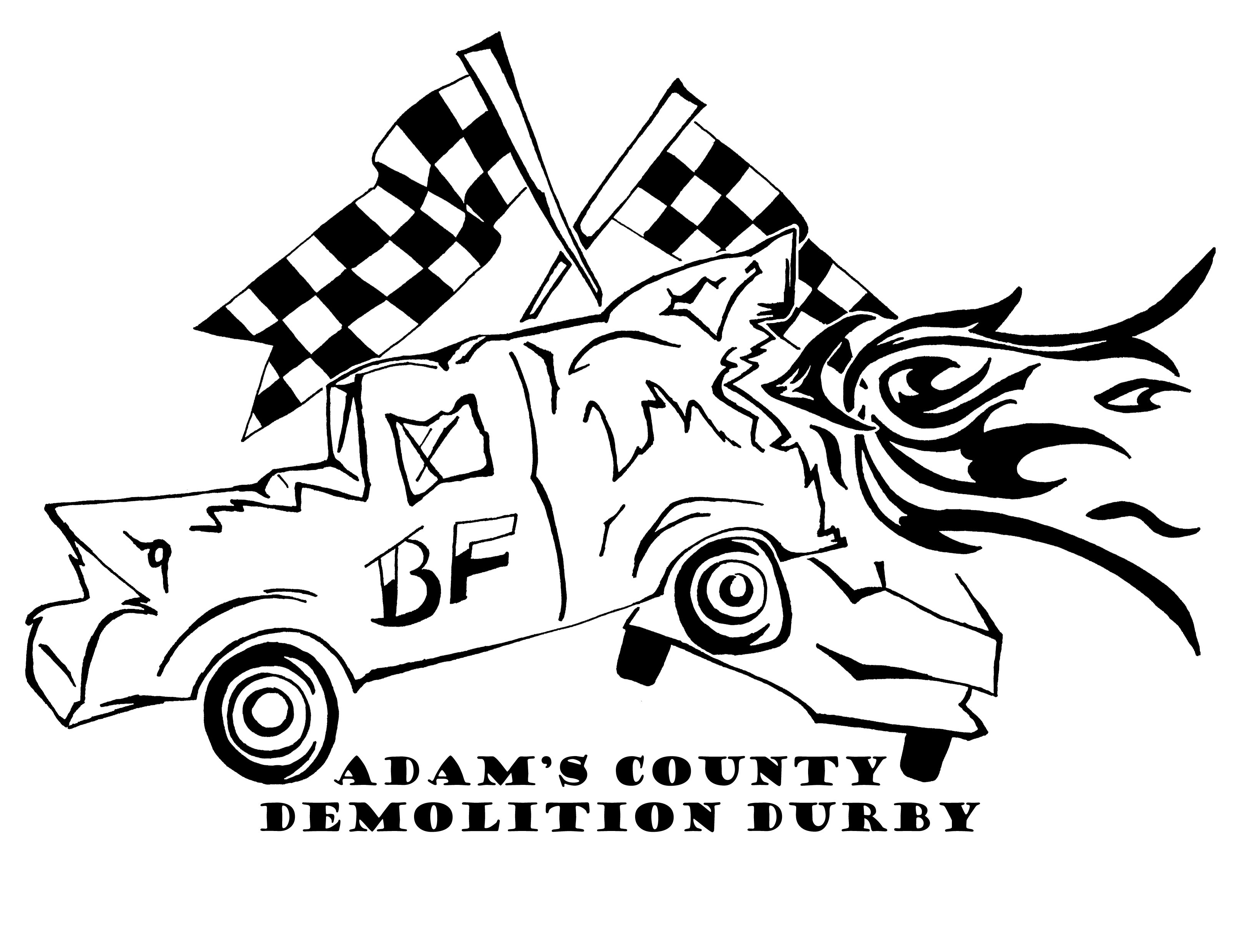 Demolition Derby Drawing At Getdrawings Com Free For Personal Use