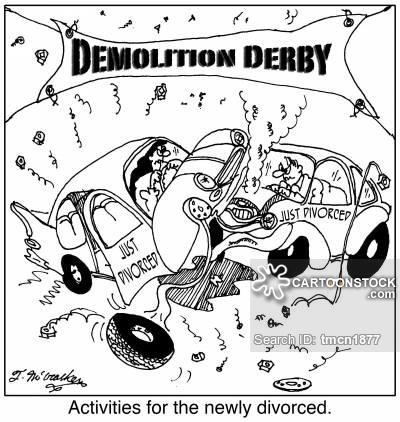 400x422 Demolition Derby Cartoons And Comics