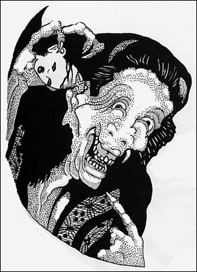 288x397 Demon Drawings, Vampires And Little Devils