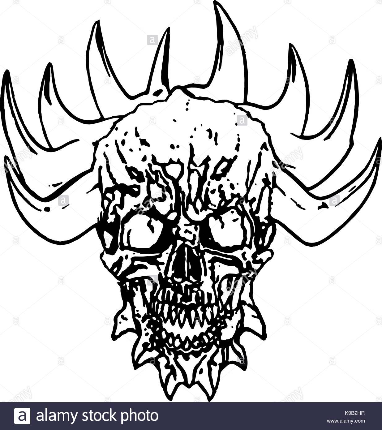 1235x1390 Demon Horns Stock Photos Amp Demon Horns Stock Images
