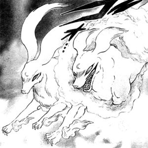 300x300 Sesshomaru And His Mother Inu Kimi In Their Dog Demon Forms