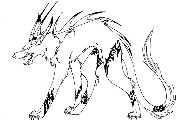 600x413 Demon Dog By Spirit Chase
