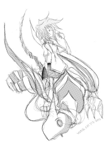 459x611 Dragon Human Drawing Demon Dragon Drawings