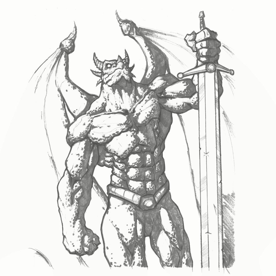894x894 Dragon Man By Freddylupus