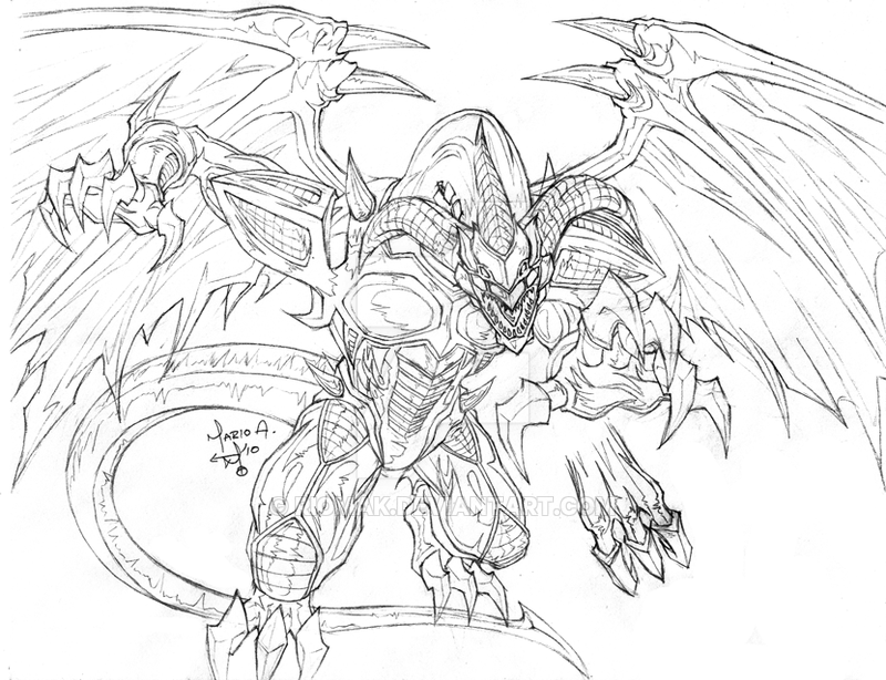 800x614 Red Demon Dragon Sketch By Riomak