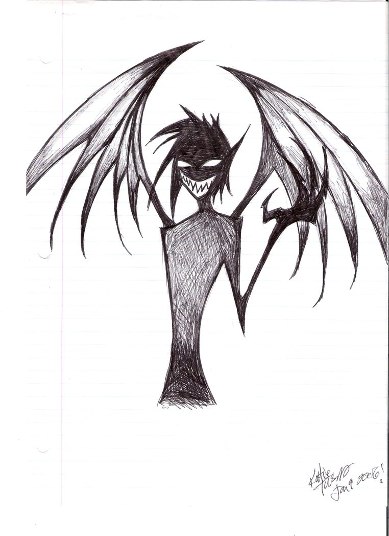 Demon Drawing