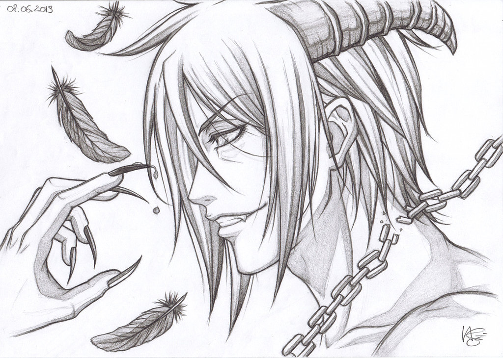 1024x730 Sebastian Michaelis ~ I Am One Hell Of A Demon. By Natsuki1986