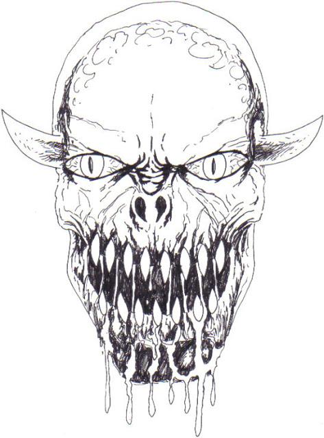 473x640 Wayne Tully Fantasy Art New Drawings Sketchbook Notes
