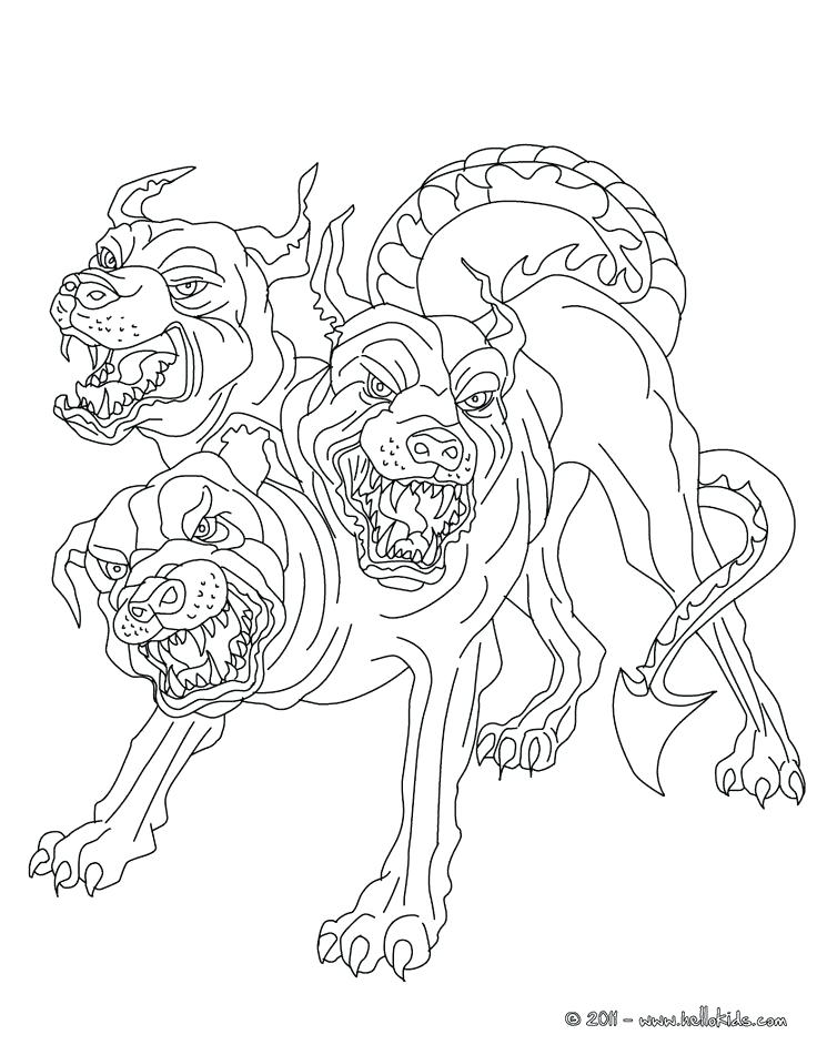 736x951 Evil Unicorn Coloring As Well As Drawn Demon Coloring Page 5 166