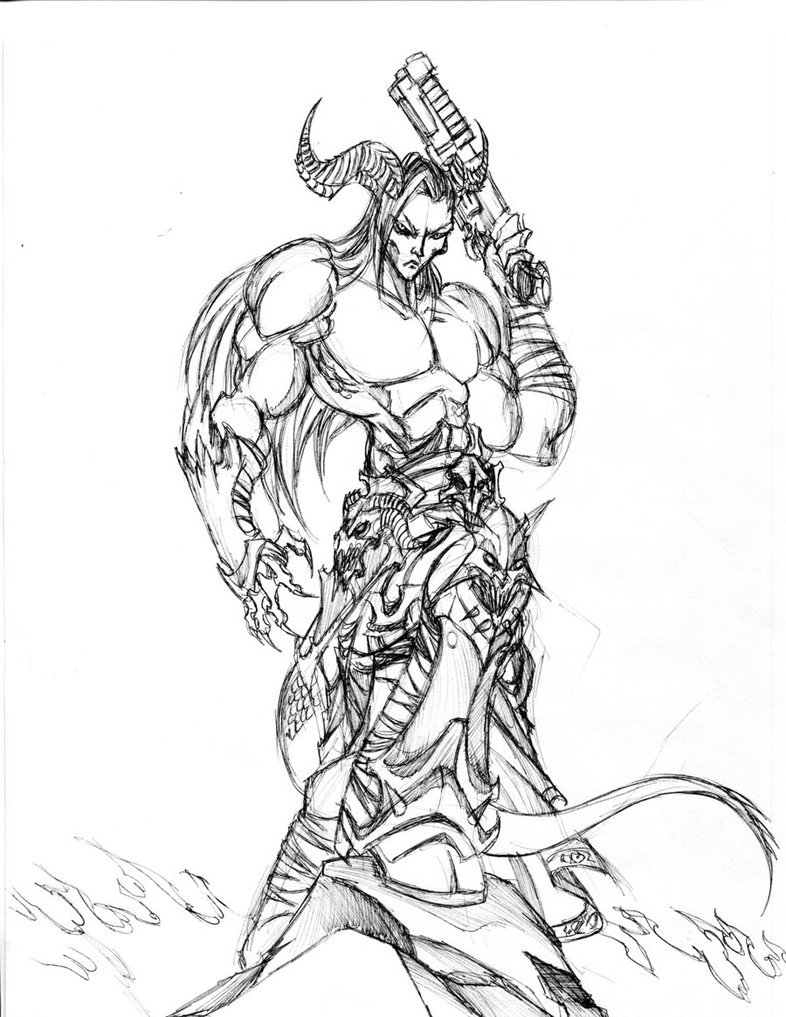 786x1017 Half Demon Vulgrim By Winddragon24